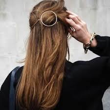 barrette hair unique circle hair clip stick arrow fork barrette hair pins