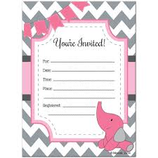 blank invitations blank baby shower invitations theruntime