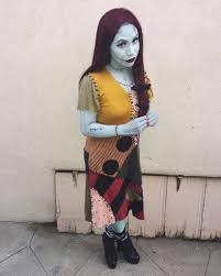 nightmare before christmas halloween costumes adults diy nightmare before christmas sally costume maskerix com
