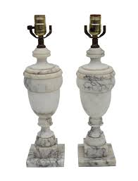 pair of italian alabaster lamps nueve grand rapids michigan u0027s