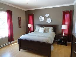 red bedroom accent wall best home design ideas