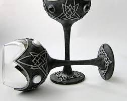 wedding goblets wedding goblet etsy