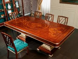 classic dining table brass rectangular ermitage vimercati