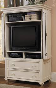 Bedroom Furniture Tv Armoire Klaussner Treasures White Tv Armoire Kl 842690tvar At Homelement Com