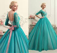 half sleeves ball gown quinceanera dresses 2016 new arrival lace