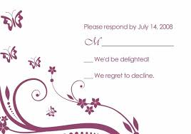 wedding invitations and response cards purple butterfly wedding invitations with response cards