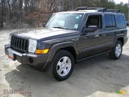 dark gray jeep 2006 jeep commander 4x4 in dark khaki pearl 352454 all