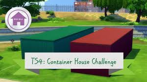 the sims 4 container house part 1 youtube