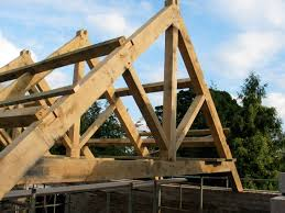Building A Gambrel Roof by Edgeworth Barn U2013 Roof Oak Timber Framing U0026 Carpentry In France