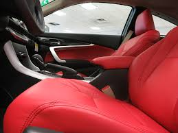 lexus is350 white and red winter white meets red fury the custom leather seats we