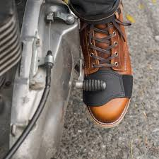 motorcycle shoes motorcycle shifter boot protector black café racer pinterest