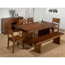 dining tables bench style room sets images on terrific corner