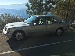 1990 mercedes 190e 1990 mercedes 190e 2 6 w201 clean title 177k lots of recent work