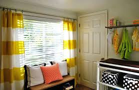 nursery window curtains roller shade with drapery for baby nursery