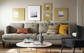 Room And Board Sofa Bed Manhattan U0026 Profile Gold Frame Wall Modern Home Decor Room U0026 Board