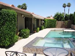 Islander Pool And Patio by Quiet Gated Community Private Large Homeaway Palm Desert
