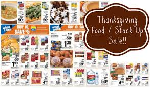 kroger price match thanksgiving items