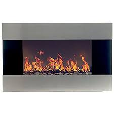 Electric Wallmount Fireplace Amazon Com Touchstone 80001 Onyx Wall Hanging Electric Fireplace