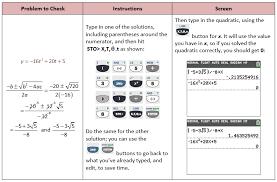 solutions of quadratic equations calculator tessshlo