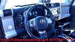 parting out 2007 toyota fj cruiser stock 4073pr tls auto