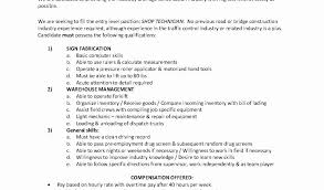 Example Resume For Maintenance Technician 100 Maintenance Position Resume Dock Worker Resume Sample