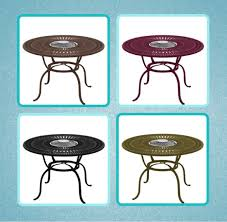 tropitone fire pit table reviews fire tables for dining the hottest trend in fire pits rich s for