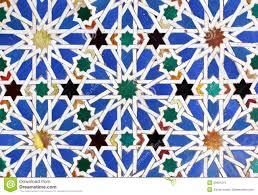 moorish ceramic tiles royalty free stock image image 29991216