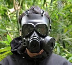 Masker Gas gas mask respirator rubber gas mask 0 5 meter