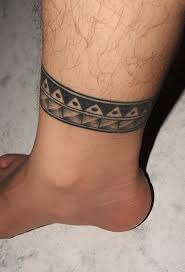 be trendy with an ankle tattoo for men only tattoos