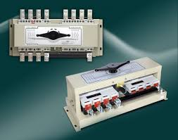 manual transfer switch chassis mounted 3 pole 4 pole