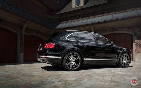 bentley bentayga 2016 black luxurious black bentley bentayga adorned with chrome elements