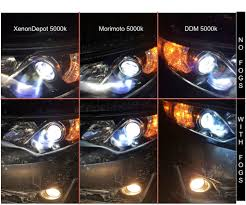 lexus vs toyota comparison 4300k vs 5000k hid color temperature comparison clublexus