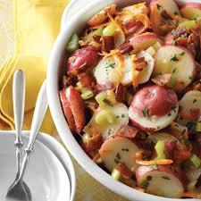 deluxe german potato salad recipe taste of home