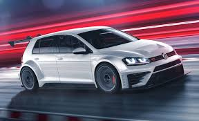 white volkswagen gti 2016 vw golf race car gets the gti treatment customer racing program