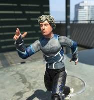 quicksilver film marvel quicksilver age of ultron movie marvel legends custom action figure