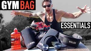 top 10 gym bag essentials increase training u0026 gaining youtube