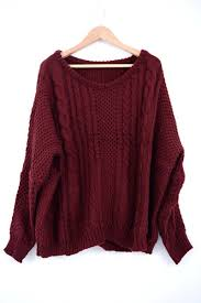 maroon sweaters cable knit sweater maroon sweaters jp style