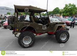 jeep army star world war ii army jeep stock image image of army transportation