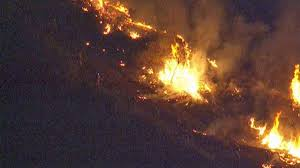 California Wildfires Ventura County by Monster