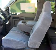 Ford F350 Truck Seat Covers - 2002 2010 ford f250 f550 super duty front 40 20 40 split bench