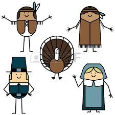 thanksgiving characters royalty free cliparts vectors and stock