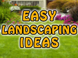 endearing front yard and backyard landscaping design idea with
