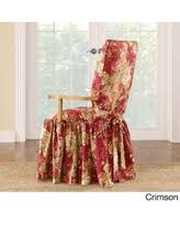 Dining Room Chair Slipcovers by Deal Alert Sure Fit Waverly Ballad Bouquet Dining Room Chair