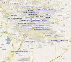 Hyderabad Map Prakash Arts Vijayawada Hyderabad Bangalore Chennai Vizag