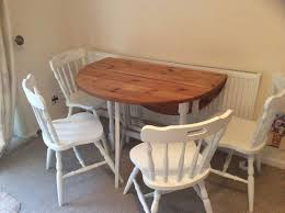 oval drop leaf table shabby chic oval drop leaf table and chairs reduced in cambridge