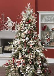 silver and tree decorating ideas design decoration
