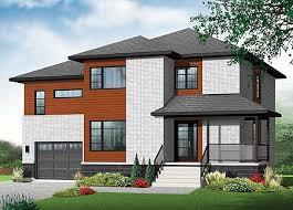 4 level split house 4 bed contemporary split level home plan 22361dr architectural