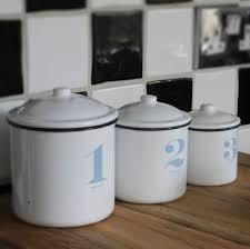 enamel kitchen canisters storage retro kitchen storage containers set of three retro