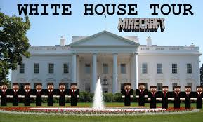 Clinton Houses Minecraft Amazing White House Tour Youtube