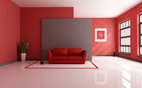 Decorating With Red Sofa Red Sofa And Red White Carpet White Marble Floor Red Wall And